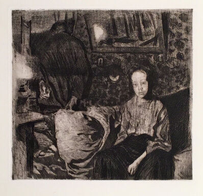 Käthe Kollwitz, 'JUNGES PAAR (YOUNG COUPLE)', 1904