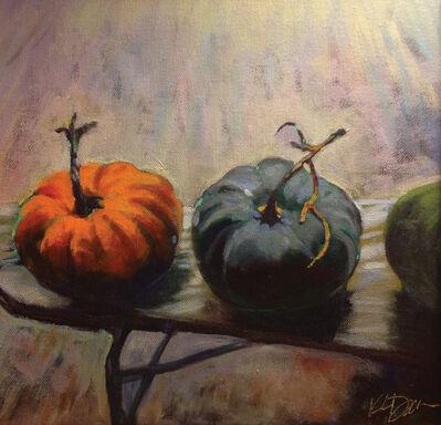 Kathy Dana, 'Cedros Pumpkins'