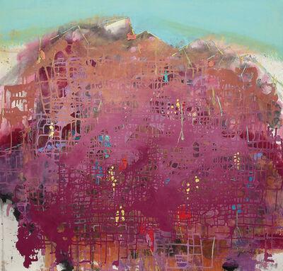 Yi Kai, 'Red Circuit Mountain 紅色的線狀山巒', 2015