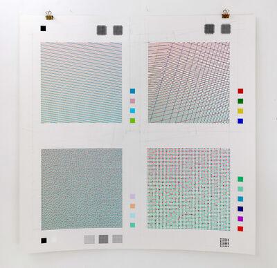 Adrien Lucca, 'D65 series. Quatre solutions', 2015