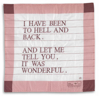 Louise Bourgeois, 'I Have Been to Hell and Back', 2007