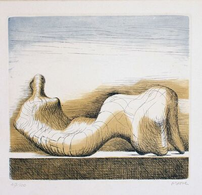 Henry Moore, 'Reclining Figure', 1976