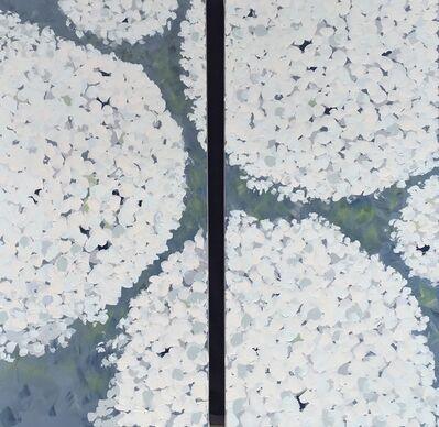 Kim Romero, 'Potted Hydrangea Diptych ', 2018