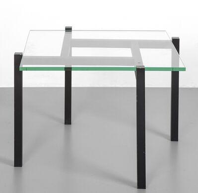 Vittorio Sacco, 'A small table for CRISTAL ART', around 1985