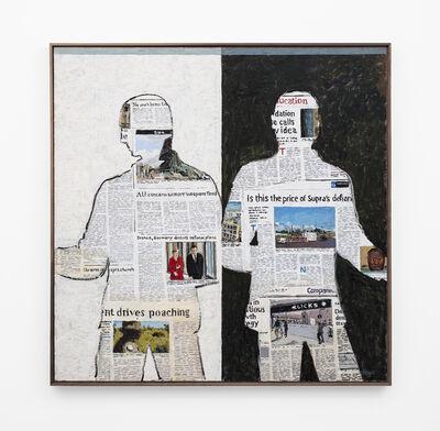 Simon Stone, 'Newspaper Men', 2018