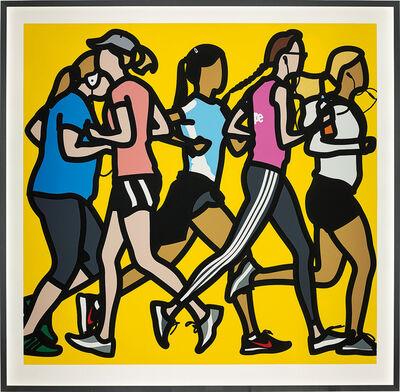 Julian Opie, 'Running Women, from Runners', 2016