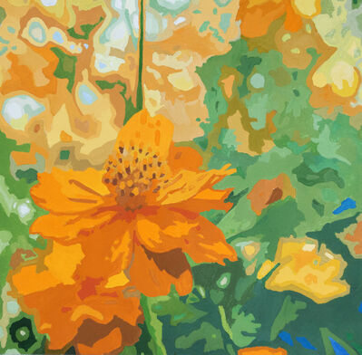James Oliver (1972), 'Wildflower Composition (California Poppy#10)'