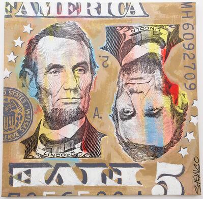 John Stango, 'Lincoln Five Dollar Bill', ca. 2018