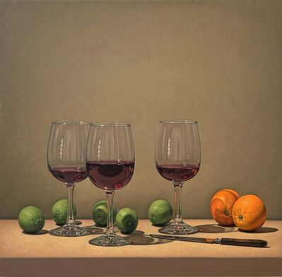 Tom Gregg, 'Limes, Wine, and Oranges,'