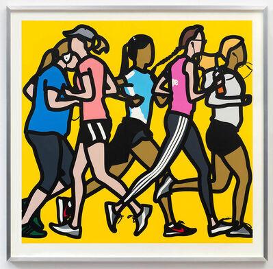 Julian Opie, 'Running Women', 2016