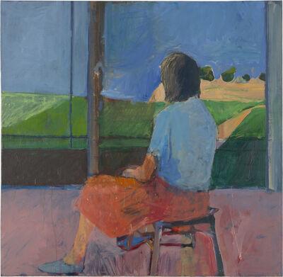 Richard Diebenkorn, 'Girl Looking at Landscape', 1957