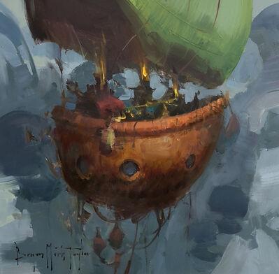 Bryan Mark Taylor, 'Floating Away', 2018