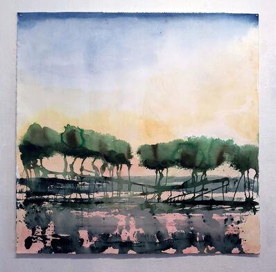 Monica Angle, 'Tree Lines', 2014