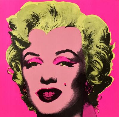 Andy Warhol, 'Marilyn Invitation Card (Castelli Gallery) ', 1981