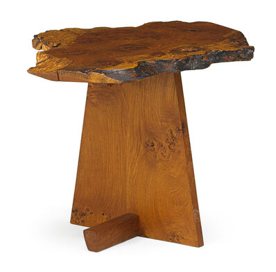 George Nakashima, 'Minguren I side table, New Hope, PA', 1977