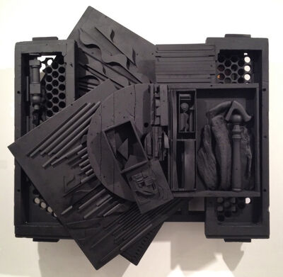 "Louise Nevelson, '""Mirror Shadow XXXIX""', 1987"