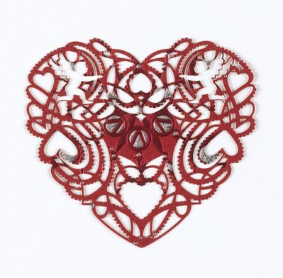 Marian Bantjes, 'Greeting card Valentine', 2010