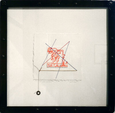 David deVillier, 'The Red Garden'