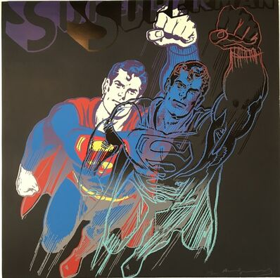 Andy Warhol, 'Superman from Myths 1981 F&S II.', 1981