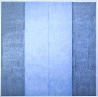 Agnes Martin, 'Untitled #1 (Blue)', 2003