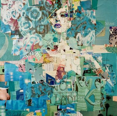 Derek Gores, 'Full Volume Aqua', 2017