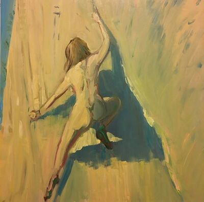 Deborah Brown, 'Rock Climber 2', 2018