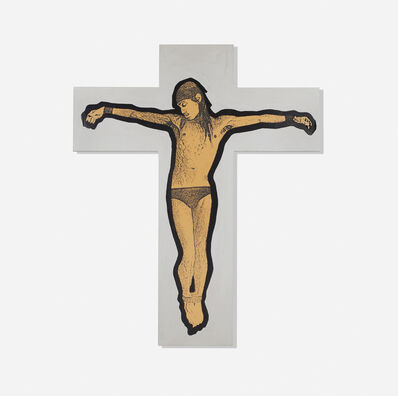 Stephen Sprouse, 'Iggy on the Cross', 1987