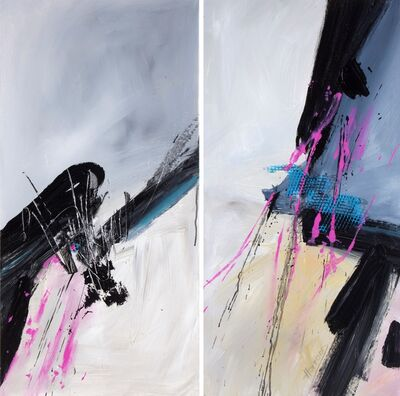 Maria Teresa Hafford, 'Preludio #81, diptych', 2015