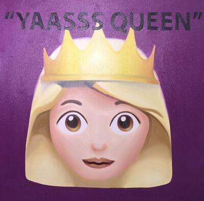 "The Kaplan Twins, '""Yaasss Queen"" (purple)', 2019"