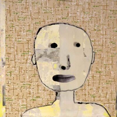Holly Roberts, 'Boy with Wallpaper', 2016