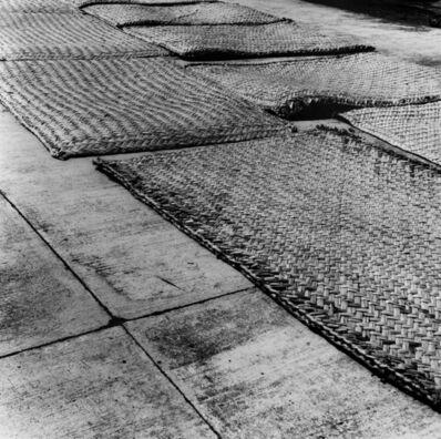 Oswaldo Ruiz, 'Petates sobre concreto', 2016