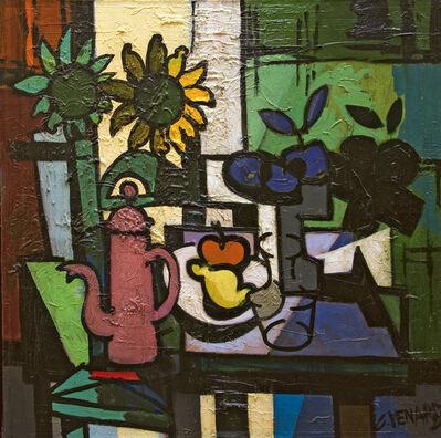 Claude Venard, 'Tournesols et les fruits (Sun Flowers and Fruits)', 1975
