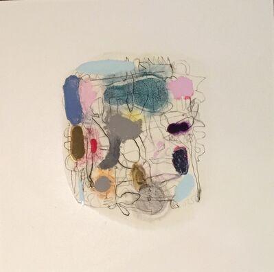 Marie Le Lievre, 'Map (Madder & Blue)', 2018