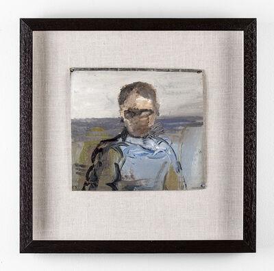 Simon Stone, 'Man with Blue Shirt', 2017