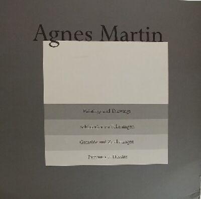 Agnes Martin, 'Book w/prints Hardcover portfolio'