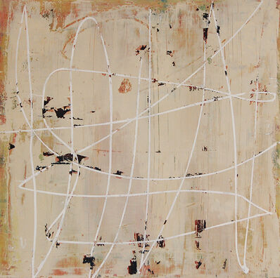 Mary Didoardo, 'White Loop on Tan', 2013