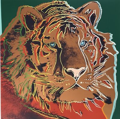 Andy Warhol, 'Siberian Tiger from Endangered Species', 1983
