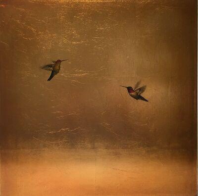 Carolyn Reynolds, 'Golden Hummers VI', 2017