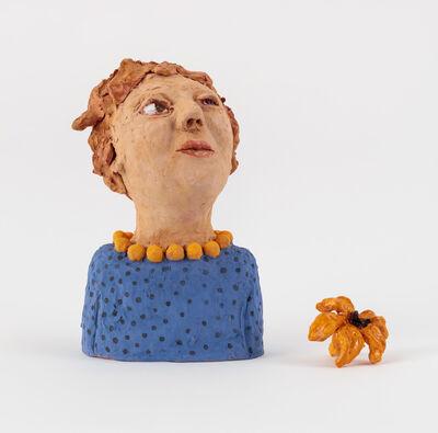 Sally Saul, 'Woman with Flower', 2018