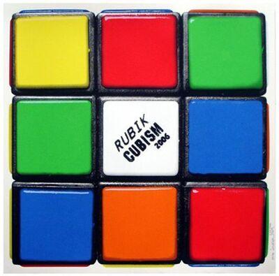 Invader, 'Rubik Cubism (First Edition)', 2006