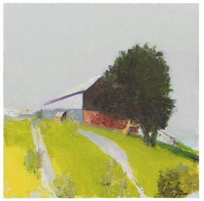 Wolf Kahn, 'Winchester Barn', 2015