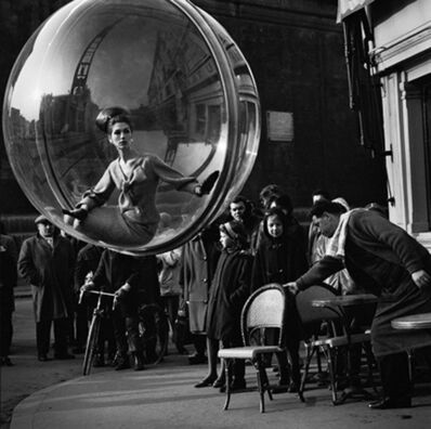 Melvin Sokolsky, 'With Chair, Paris', 1963