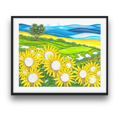 Valentino Dixon, 'Sunflowers', 2016