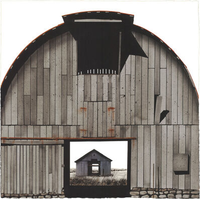 George Dombek, 'Marion County Barn with Barn', 2014