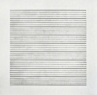Agnes Martin, 'Untitled #1 (from Stedelijk Museum), 1990', 1990