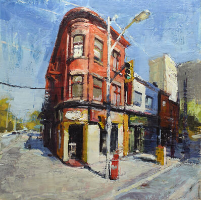 Brian Harvey, 'The Corner (Sherbourne and Howard)', 2018