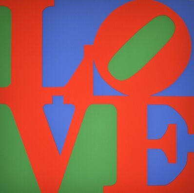 Robert Indiana, 'Love', 1997