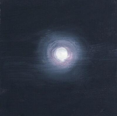 Ann Craven, ' Superbowl Moon (White St, 2-05-12, 9:45PM), 2012', 2012