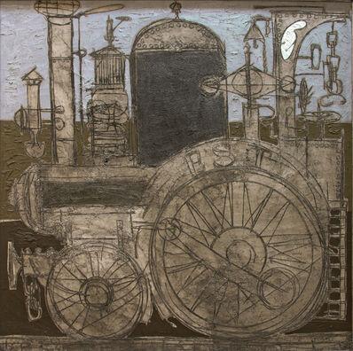 Claude Venard, 'Locomotive', 1954