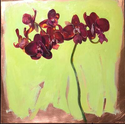 Benjamin J. Shamback, 'Violet Orchid', 2014